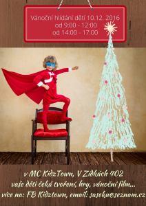 Vánoční hlídání v KidzTownu